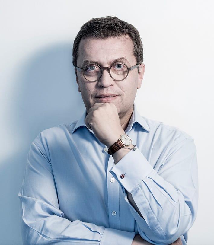 Lebensberater Christoph Schlick denkt nach