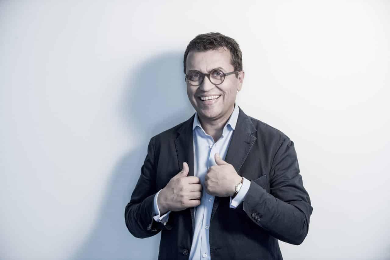 Fröhlicher Christoph Schlick - Lebensberater